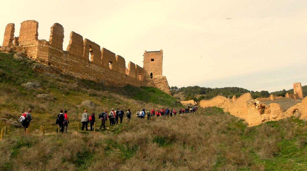 Cruce De Caminos Castillo De Daroca