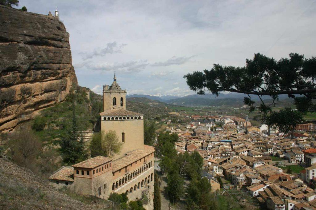 Graus Y Albarracín Basilica De La Virgen De La Pena
