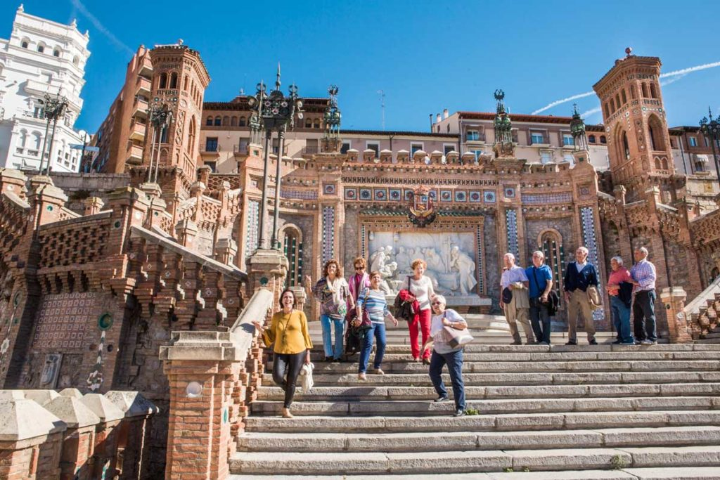Teruel Deslumbrante Escalinata