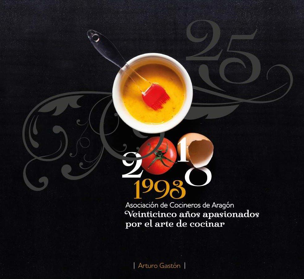 25 años Asociación de cocineros Aragón