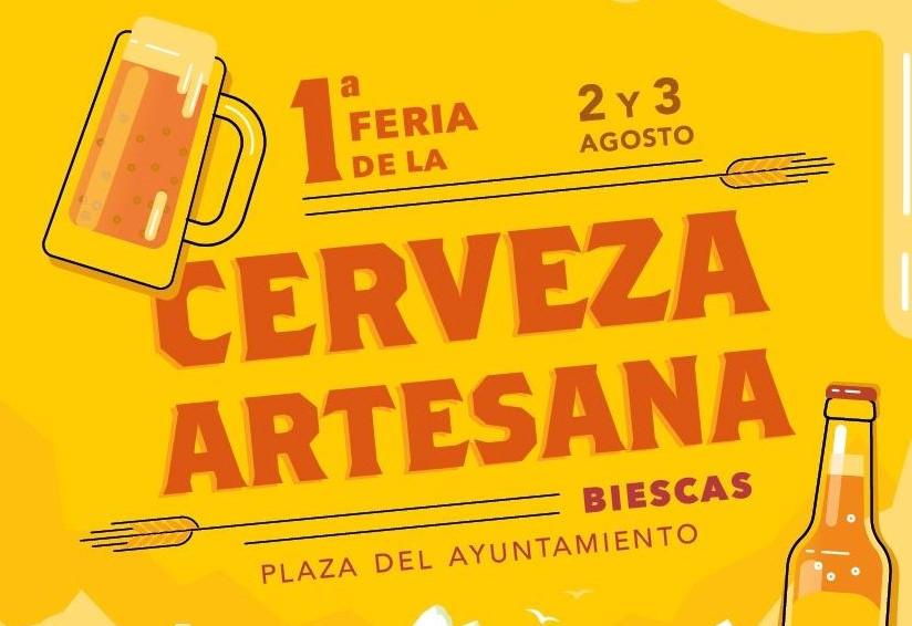 Feria de la cerveza artesana de Biescas 2019