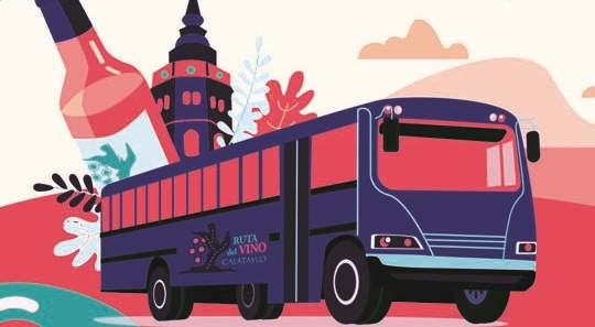 Bus del Vino de Calatayud 2019