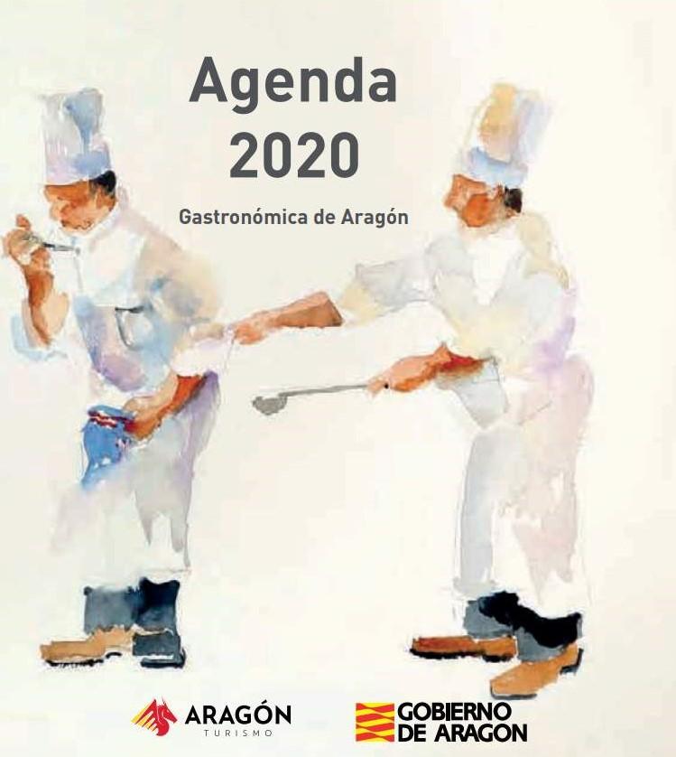 Agenda gastronómica 2020 - Portada