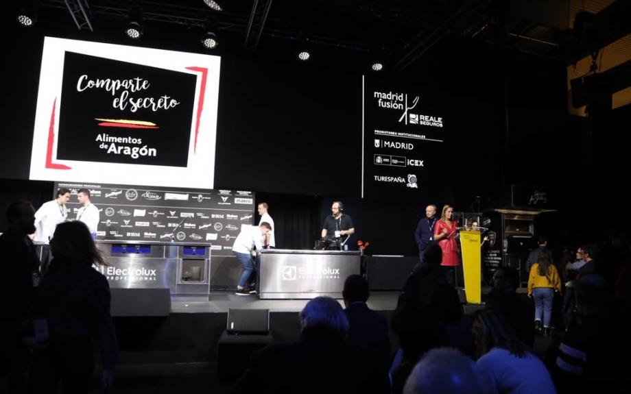 Aragón en Madrid Fusión 2020