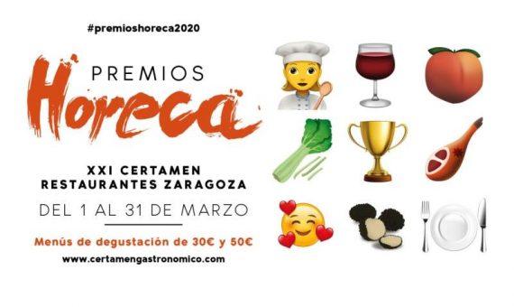 Cartel Premios Horeca 2020