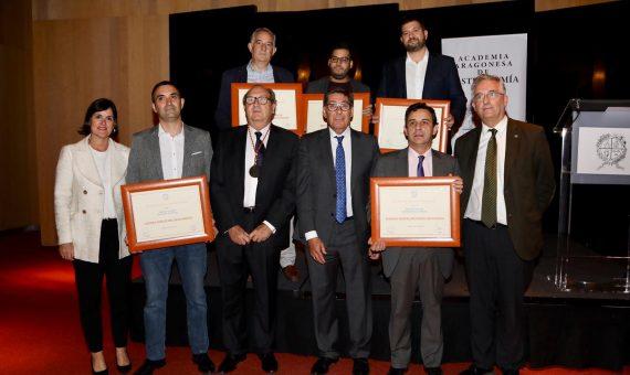 Premios de la Academia Aragonesa de Gastronomía 2019