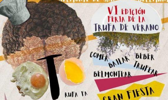 VI Feria de la trufa de verano Belmonte de San José
